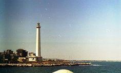 Il faro di Bari, Puglia. #faro #Adriatico #lighthouse #marAdriatico #Puglia