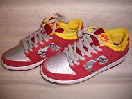 Men's Nike Dunk Low PRM Crawfish Action Red SB Men's Size 8 -Women's Size 10. These can be seen at www.stores.ebay.com/soles-n-clothes Free Shipping