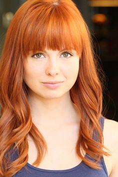 Red hair! So pretty! Galadriel Stineman