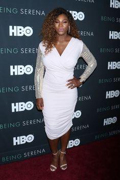 Serena Williams At HBO