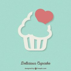 Discover the best free resources of Cake Cupcake Logo, Cupcake Vector, Bakery Branding, Bakery Logo Design, Branding Design, Logo Doce, Cupcake Illustration, Vintage Typography, Vintage Logos