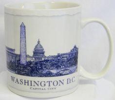 Starbucks #Coffee Mug Washington DC Architectural Series Collector Cup 2008 18 oz #Starbucks