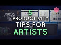5 Great Productivity Tools for 3D Artists - YouTube