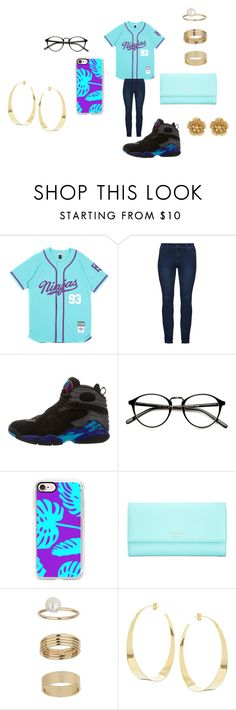 """Too Fresh For You!"" by zyriajones ❤ liked on Polyvore featuring NIKE, Casetify, Kate Spade, Miss Selfridge, Lana and Miriam Haskell"