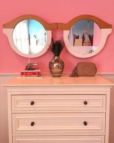 Glasses, Wood And Mirror. These mirrored, supersized specs put you in a sunny frame of mind, bringing a beachside outlook to your space. My New Room, My Room, Kids Furniture, Luxury Furniture, Kids Bedroom, Bedroom Decor, Cool Mirrors, Beautiful Mirrors, Unique Mirrors