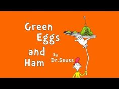 """Animated version ▶ Read-Aloud """"Green Eggs and Ham"""" by Dr Seuss - A Book for Kids - YouTube"""
