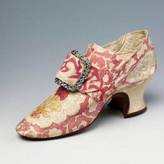 1700's Painted Shoe