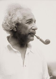 """I believe that pipe smoking contributes to a somewhat calm and objective judgement in all human affairs."" - Albert Einstein, 1950"