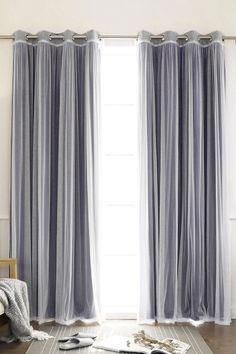 Tulle Sheer & Blackout Curtain