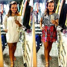 Look boho, mistura de estampas, vestidos, vestido branco, casual look