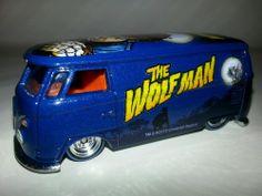 2013 Hot Wheels Nostalgia Universal Studios The Wolfman Volkswagen T1 Panel Bus