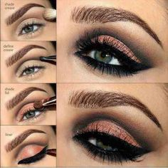 "Smokey eye ""how to"""