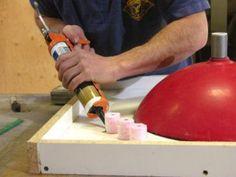 DIYNetwork.com concrete apprentice Mike Ferrara shows how to build a custom concrete bathroom countertop.