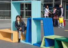 Street furniture by Izabela Bołoz » Retail Design Blog