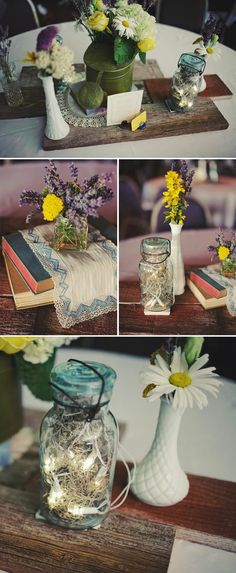 vintage wedding inspiration #Decoration