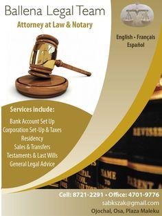 Ballena Legal Team - Sur Costa Rica