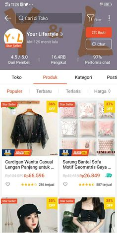 Best Online Clothing Stores, Online Shopping Sites, Online Shopping Clothes, Online Shop Baju, Instagram Editing Apps, Instagram Emoji, Casual Hijab Outfit, Korean Girl Fashion, Beautiful Hijab
