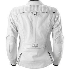 Shift Racing Women's Siren Leather Jacket back