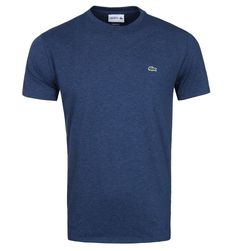 Lacoste Anchor Chine Cotton Crew Neck T-Shirt
