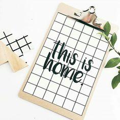 PRINTS -  this is home 🌿 ⚫ SHOP ONLINE ⚫ www.thesecretdoordecor.com ⚫  #thesecretdoordecor #melbourne #sydney #interiordecorating #scandinaviandesign #styleitmyway #thisishome #home #print #grid #love #plant #leaf #blackandwhite #monochrome #green #silentlittlewhispers #instagram #love #instagood #white #black #vsco #mumsinbusiness #Regrann 📷@leanne_loves__ #Regrann