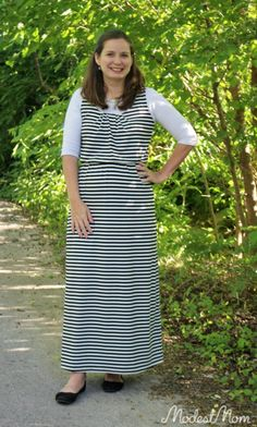 Dressing Modestly at a bargain! DIY fashion outfit for women on a budget!
