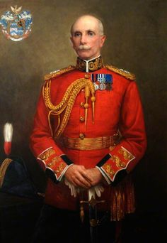 Colonel Thomas Field Dunscomb Bridge, ADC to Her Majesty Queen Victoria and His Majesty King Edward VII, Commandant Depot Royal Marines Military Art, Military History, Military Uniforms, Marine Commandos, British Army Uniform, Victorian Paintings, King Edward Vii, Royal Art, Man Of War