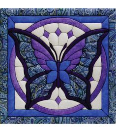 """Butterfly Quilt Magic Kit - 12""""X12"""""""