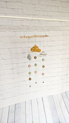 Mobile, Wolkenmobile, Windspiel Mobiles, Wind Chimes, Outdoor Decor, Etsy, Home Decor, Handmade, House, Decoration Home, Room Decor
