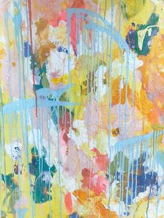 A small section of a large piece. Oil pastel and acrylic on canvas. Collage, Pastel, Oil, Canvas, Artist, Painting, Tela, Collages, Cake