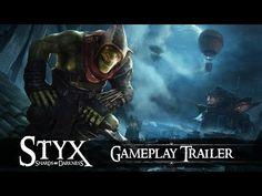Новый геймплейный трейлер стелс-экшена Styx: Shards of Darkness   FatCatSlim   Гики пишут для гиков