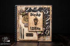 Retro Inspiracje: Notes na pomysły Olgi / Retro Inspirations: Olga's scrap ideas notebook