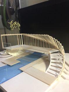 Bridges Architecture, Dynamic Architecture, Concept Models Architecture, Maquette Architecture, Architecture Model Making, Architecture Concept Diagram, Pavilion Architecture, Architecture Board, Landscape Architecture