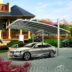 Source High Quality Hot Sale Outdoor Car Garage Carport Aluminum Polycarbonate Carport Canopy With Uv Protection Cantilever Carport Carport Designs Car Garage