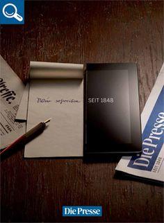 Werbekampagne « Unternehmen « DiePresse.com Advertising Campaign, Business