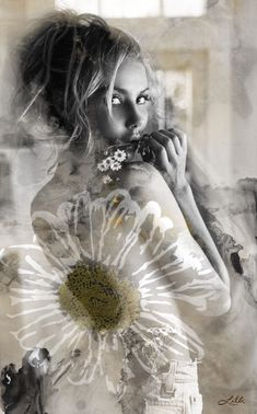 Pop Art Images, Color Splash, Daisy, Beautiful Women, Artwork, Flowers, Prints, Fictional Characters, Kit