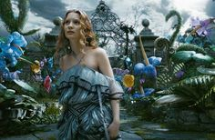 "Tim Burton's ""Alice in Wonderland"" - another movie I enjoy more for the visuals than the story-telling"