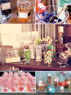 A mesa de doces | Casamento  Como fazer e o que escolher para a mesa de doces do meu casamento?