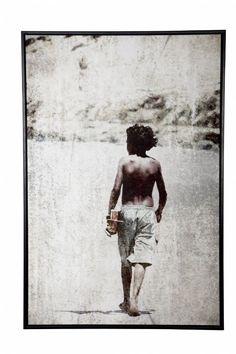 photoprint (vintage-look) on canvas