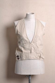 Vest From Dress Pants