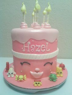 ShopKins Birthday Cake made by Dazzling Sweets