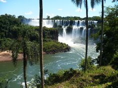 Hiking around the Iguazu Falls ten years ago this heaven is between Argentina and Brazil [3072x2304]   landscape Nature Photos