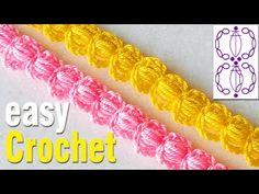 Crochet Videos, Crochet For Beginners, Easy Crochet, Cord, Crochet Patterns, Weaving, Make It Yourself, Stitch, Simple