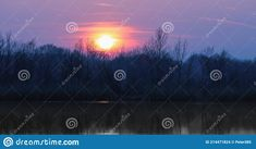 Photo about Natural gravel lake. Photographed at sunset. Slovakia. Image of famous, environment, education - 214471824 Environment, Europe, Stock Photos, Education, Sunset, Natural, Image, Sunsets, Onderwijs
