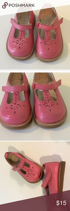 Gap pink Velcro Mary Janes! Pink Mary Jane Velcro shoes. Size 3. I bought these shoes off of Poshmark but unfortunately my daughter feet were too big. They do have a small mark on the side of them but a shoe store can buff it out. Other then that they are in perfect condition! PERFECT FOR EASTER! Happy poshing 😊 GAP Shoes Baby & Walker