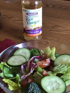 I love swapping NAKANO® rice vinegar in place of salad dressings! Learn my other healthy swap ideas with Whole Food Recipes, Healthy Recipes, Vinegar Dressing, Rice Vinegar, Roasted Garlic, Salad Dressings, Healthy Choices, Healthy Living, Clean Eating