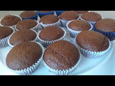 Brownies, Muffins, Mini Cupcakes, Food And Drink, Cup Cakes, Breakfast, Sweet Like Candy, Conch Fritters, Cook