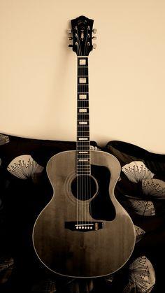 Guild Acoustic Guitars, Vintage Guitars, The Beatles, Music Instruments, Amazing, Girls, Guitars, Pictures, Beauty