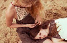 Kleid mit Strickeinsatz von Maiami aus der Frühjahr/Sommer Kollektion 2012