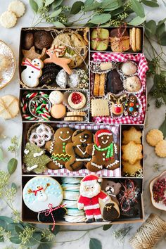 Cookie Boxes 101 + A Guide to Christmas Cookies in Vancouver   Constellation Inspiration