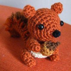 Amigurumi Squirrel Crochet Pattern : Amigurumi patterns on Pinterest Amigurumi, Crochet ...